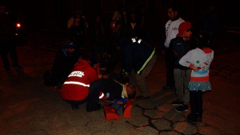 Junín de los Andes: un policía fue atropellado cuando salía del trabajo