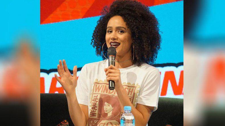 Nathalie Emmanuel en la Comic Con: Me devasta saber que GOT va a terminar