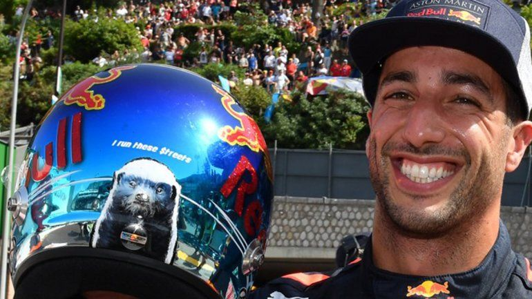 Ricciardo se quedó con la pole en el GP de Mónaco