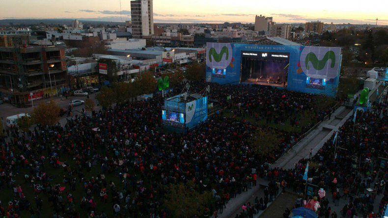 Movistar FRI Music: más de 25 mil personas lo palpitaron