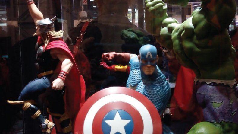 Las figuras coleccionables de acción, lo más requerido de la Comic Con
