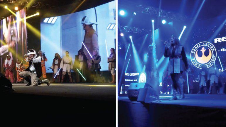 El Imperio y los rebeldes también estuvieron en la Comic-Con