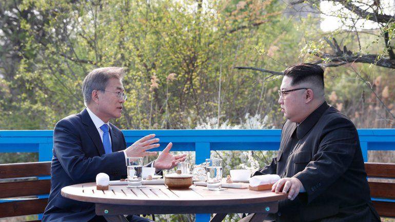 Corea: cumbre sorpresa de sus líderes