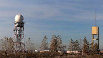 instalan un radar en la zona de la meseta para anticipar tormentas