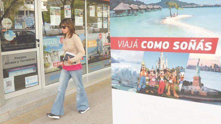 La devaluación golpea a las agencias de viajes con caída de ventas