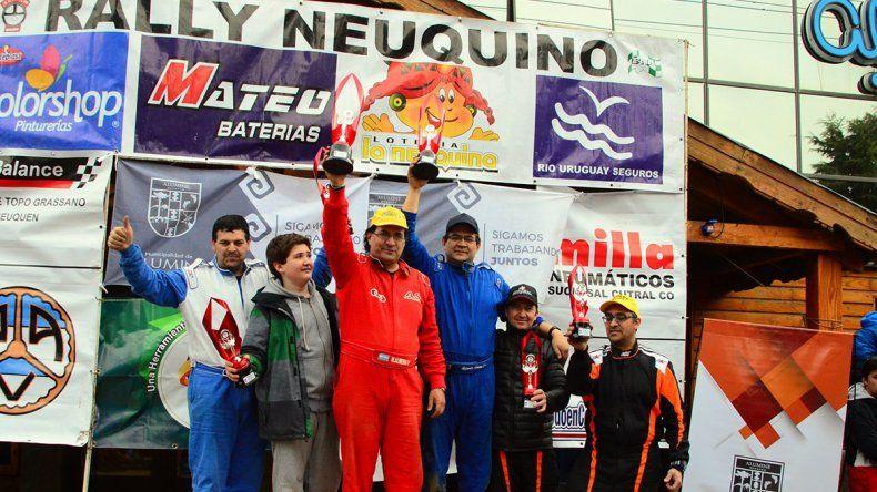Quería ganar a toda costa la tercera del Rally Neuquino