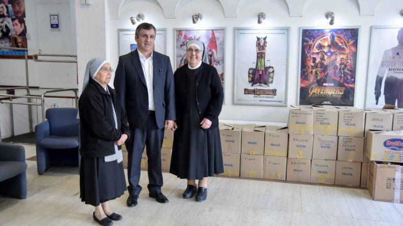 La Fundación del BPN entregó donaciones a las Hermanitas de los Pobres y a Red Solidaria
