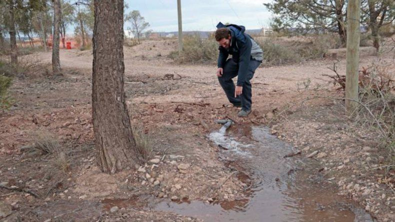 El sistema de riego de Parque Norte sumará otras tres hectáreas