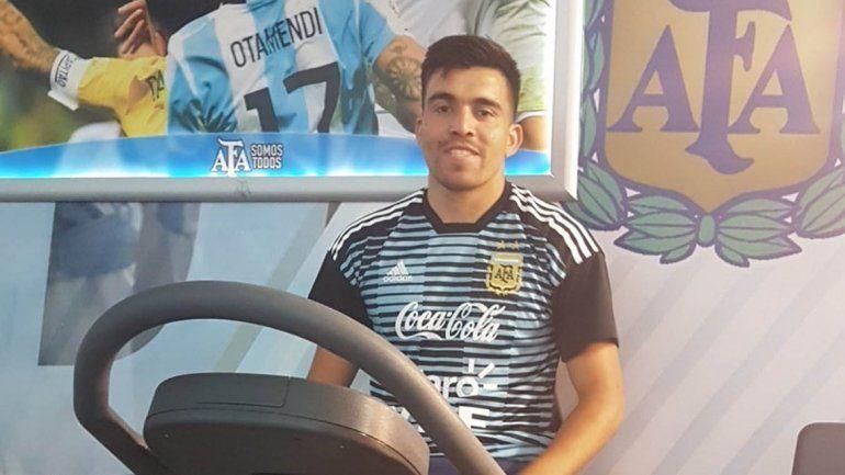 Marcos Acuña será cuidado por el cuerpo técnico para llegar de la mejor forma a la cita mundialista.