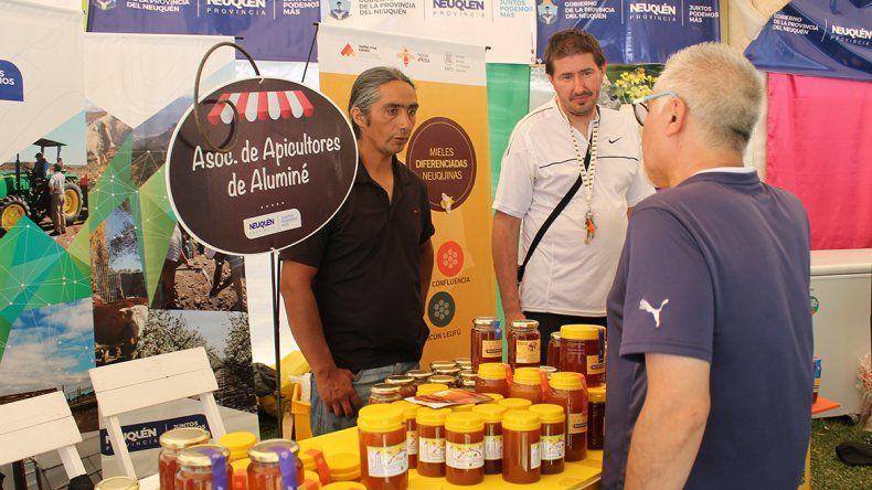 La mejor miel de  la provincia se hace en Aluminé