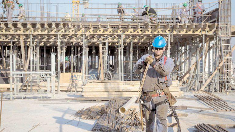 Creció el empleo privado: la construcción es el motor