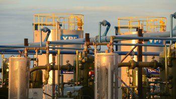 Récord: la producción de gas llegó al nivel más alto