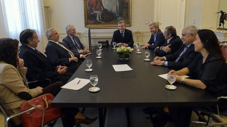 Tarifas: Pereyra y Crexell, seducidos en la Casa Rosada