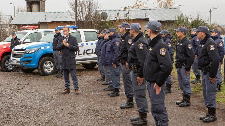 Gutiérrez destacó la disminución del delito en San Martín de los Andes