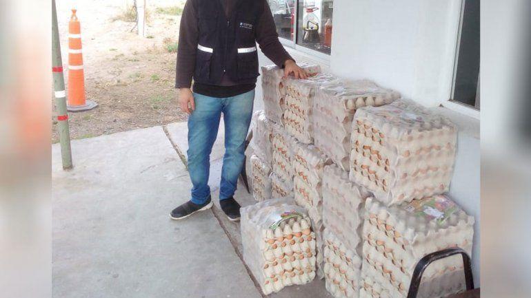 El insólito tráfico de huevos golpea a la región: Senasa secuestró 2800 docenas en cinco meses