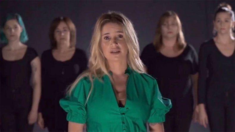 La actriz es una de las protagonistas de la campaña a favor del aborto.