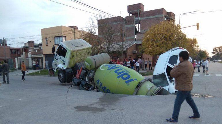 Uno de los conductores tuvo que ser trasladado a un hospital.