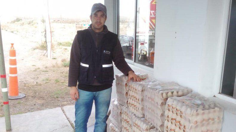 El insólito tráfico de huevos golpea  a toda la región