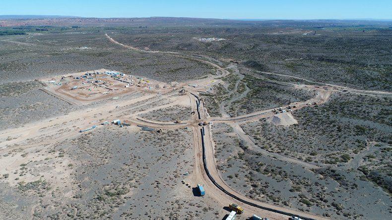 Tecpetrol inauguró su gasoducto en Vaca Muerta
