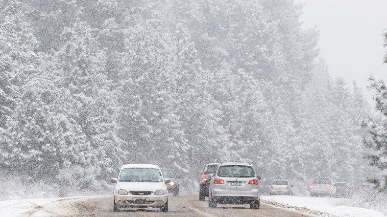 Una nevada que aumentó la ilusión en la cordillera