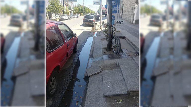 Dos barrios que huelen muy mal: vecinos denuncian desbordes cloacales en las calles