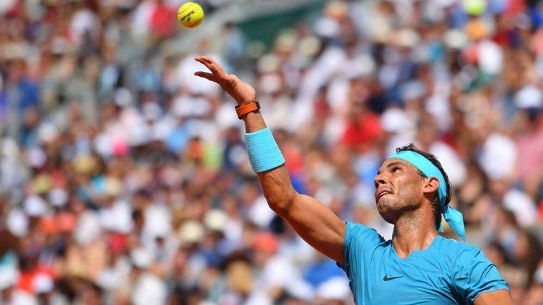 Nadal sigue por la senda ganadora y deja a atrás al argentino Pella