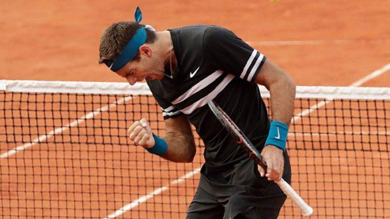 Del Potro sigue avanzando en Roland Garros, Zeballos quedó eliminado