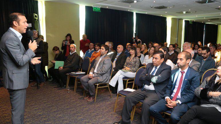 Gutiérrez destacó la diversificación de las fuentes de energía que ofrece Vaca Muerta