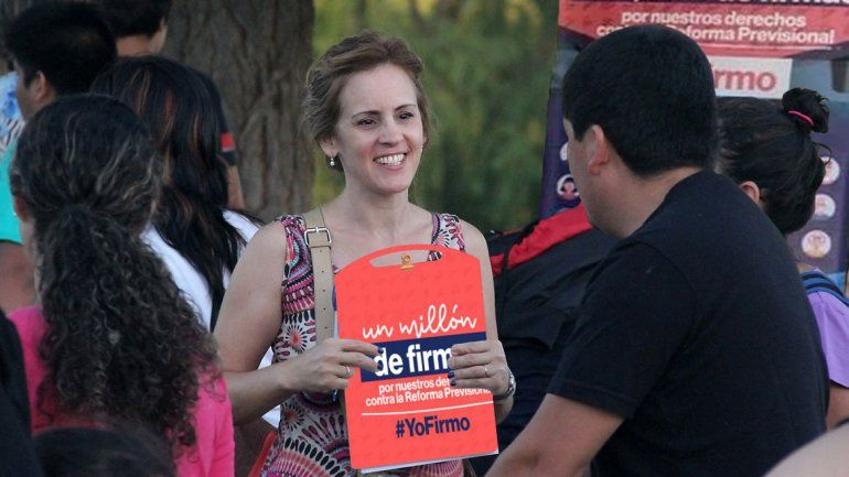 Neuquén aportó 15.000 firmas contra la reforma previsional