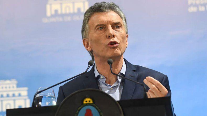Qué dijo Macri sobre los cuadernos de las coimas