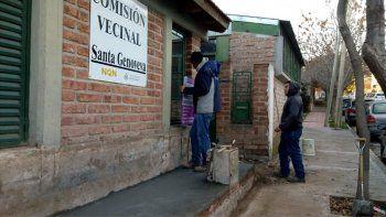 La Municipalidad les aumentó las partidas a las vecinales