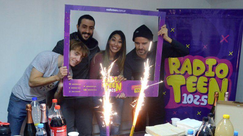 Radio Teen festejó sus dos años al aire