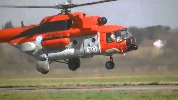 Helicóptero presidencial aterrizó de emergencia