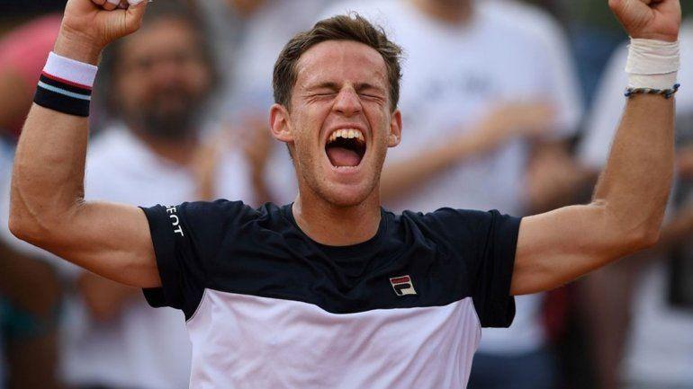 Schwartzman pasó a octavos de final de Roland Garros