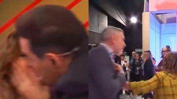 Iúdica le dio un beso a una colega y explotaron las redes