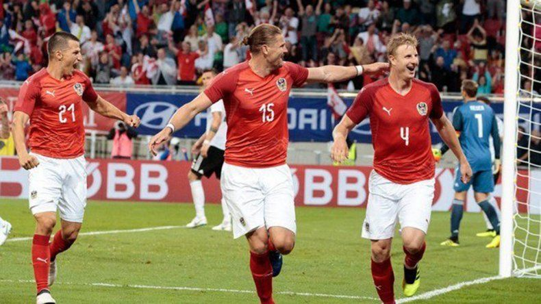 Sorpresa: Alemania perdió un amistoso frente a Austria por 2 a 1