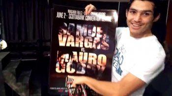 Así vive la previa a su pelea Mauro el Rayo Godoy
