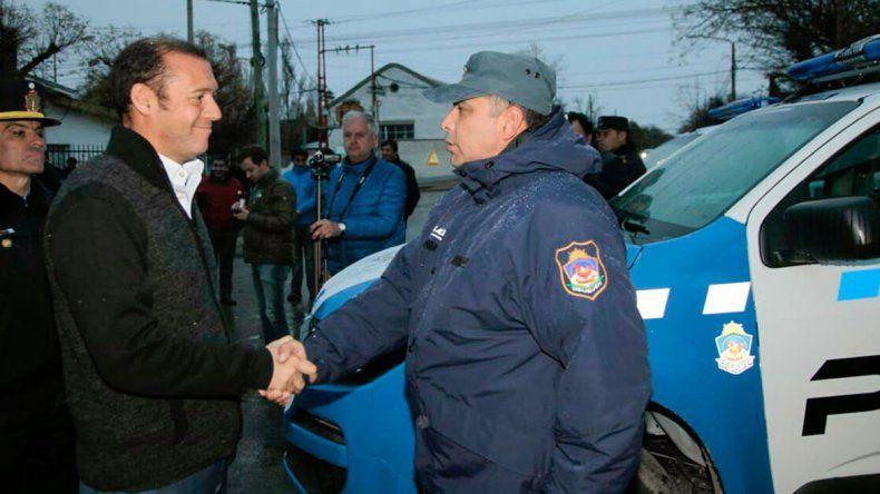 El Gobierno invirtió  14 millones de pesos en autos para la Policía