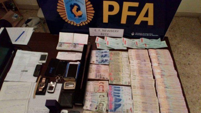 Cae banda que traficaba dinero falso y drogas