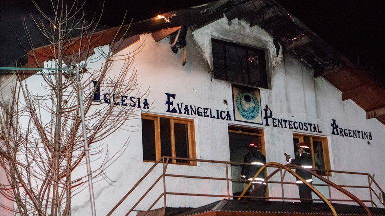 Un desperfecto en la caldera provocó un incendio en una iglesia