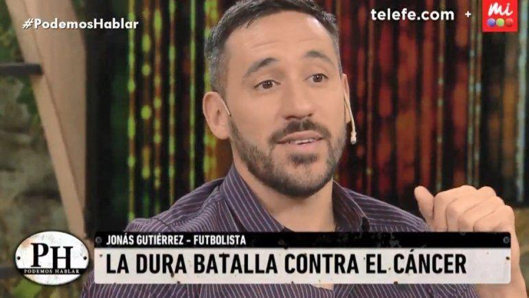 Jonás Gutiérrez emocionó a todos contando cómo fue su lucha contra el cáncer