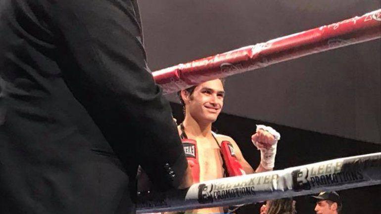 Mauro Godoy quedó muy cerca de lograr su primer título internacional. Peleó en welter y le gusta ese peso.