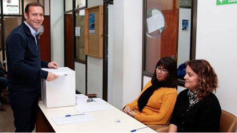 Gutiérrez participó de las elecciones para el rectorado de la UNCo