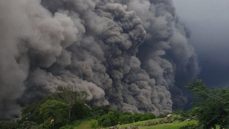 Expertos reportaron que el volcán de Fuego está volviendo a su normalidad