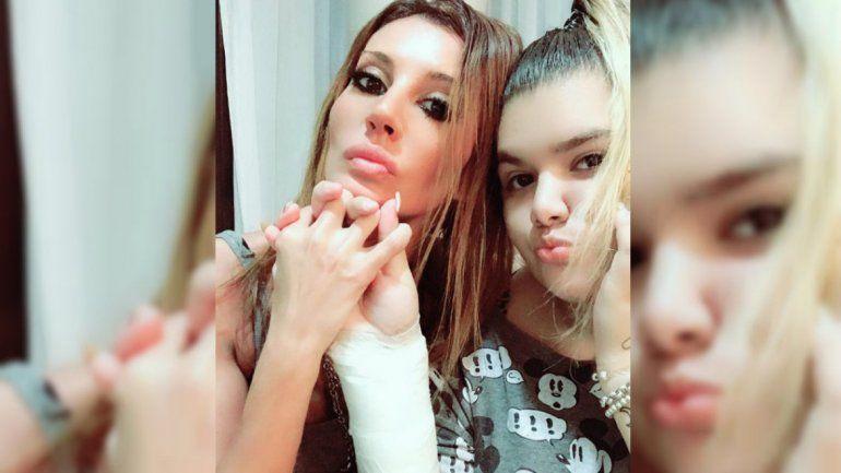 Morena se muestra muy cercana a Natacha y también a su novio