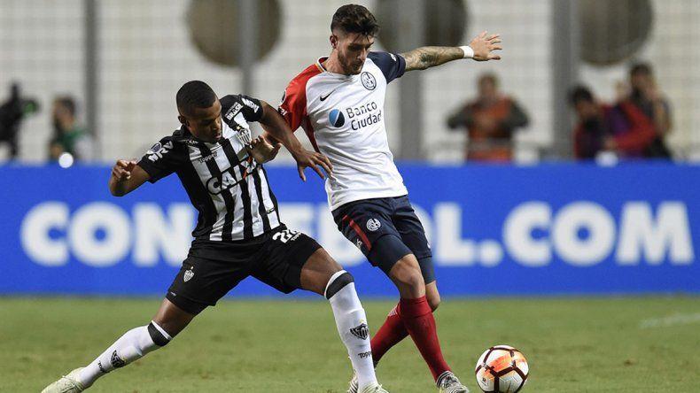San Lorenzo sacó chapa ante Atlético Mineiro en la fase previa.