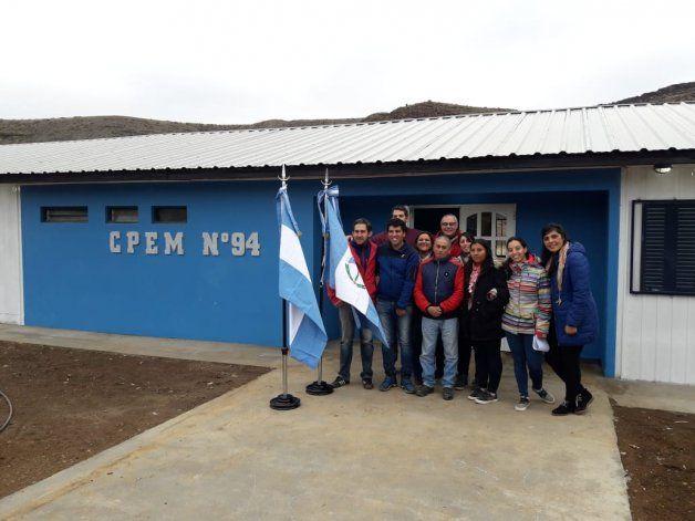 Varvarco ya tiene su propio secundario con tres aulas y sala de informática