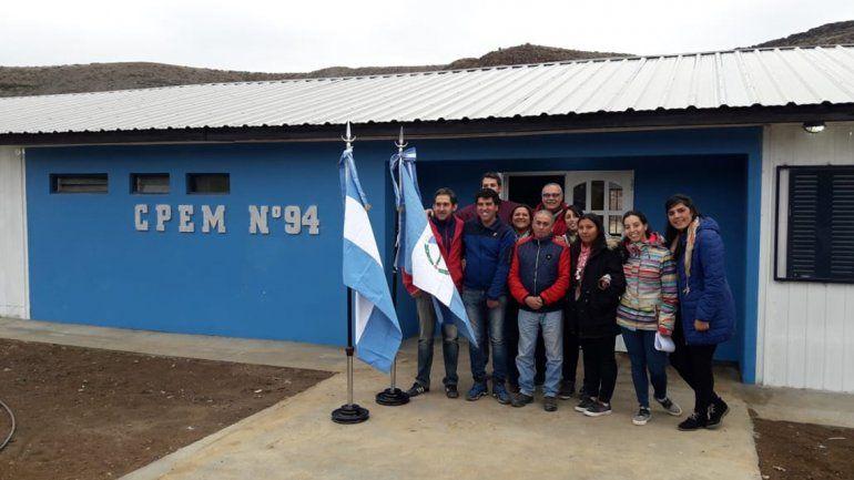 El único secundario en Varvarco funcionará de marzo a diciembre.