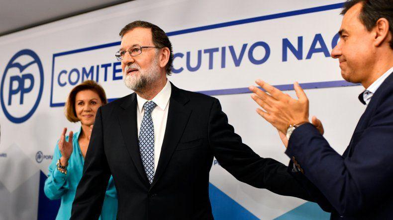 El viernes había sido apartado de su cargo como jefe del gobierno español.