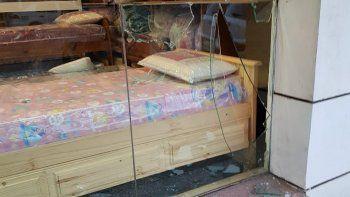 Centro: rompieron el vidrio y se llevaron ocho almohadas